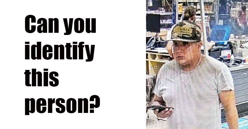 Owasso Police Asking for Assistance Identifying Person of Interest in Fraud Incident