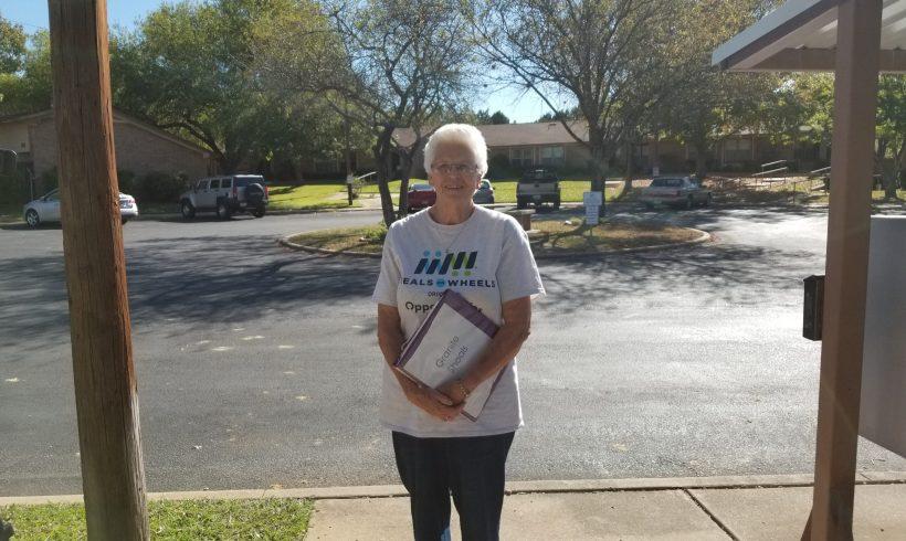 Volunteer Spotlight: Marble Falls Meals on Wheels Volunteer