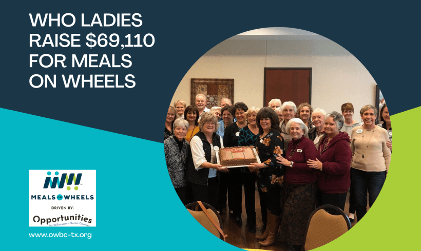 WHO Ladies of Sun City Raise $69,110 for Meals on Wheels in Georgetown