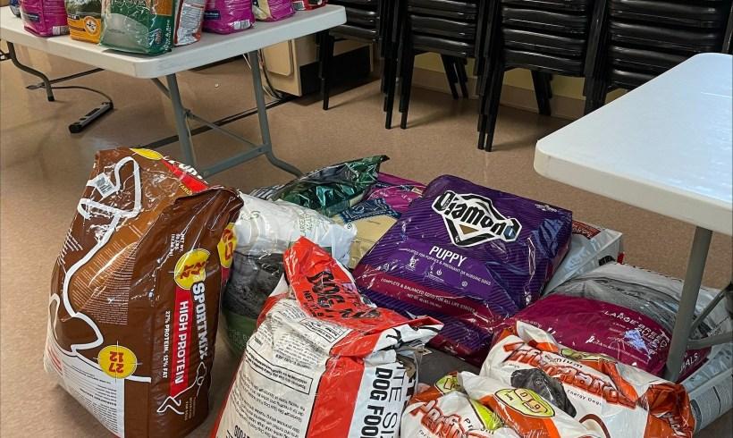 Wag Heaven Donates Pet Food to Meals on Wheels' Pet Program
