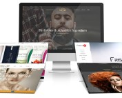 Friseur Homepage - Webdesign