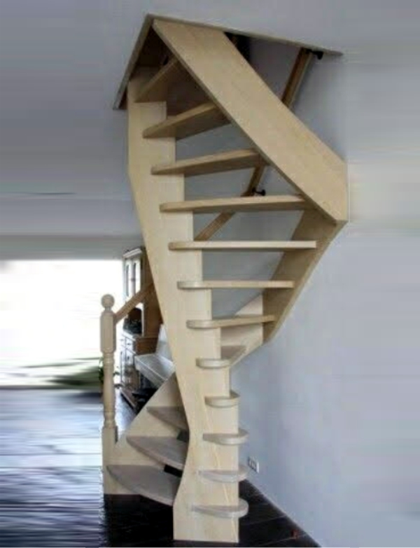 Space Saver Staircases – Old World Designs Stairs And Railings | Space Saver Staircase Plans | Stair Case | Storage | Spiral Staircases | Landing | Staircase Ideas