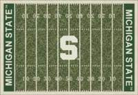 Michigan State University College Area Rugs, Mats, & Carpet