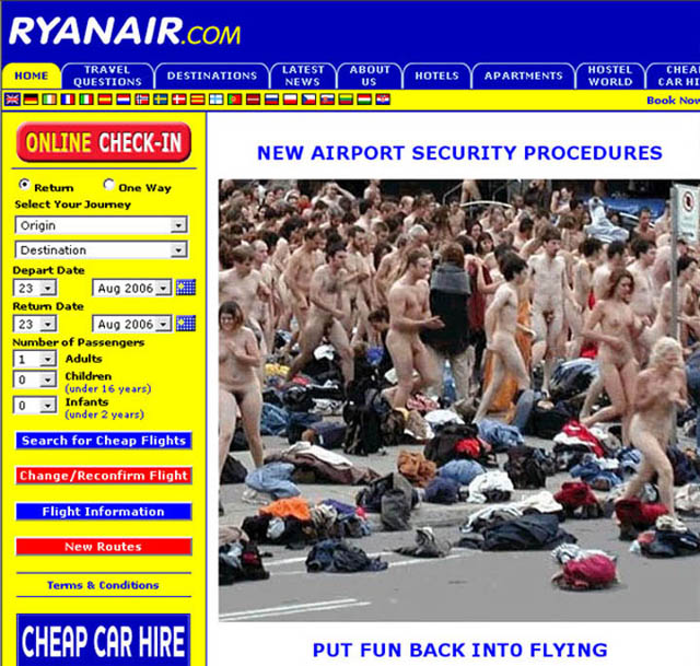 Ryanair in new pioneering move.