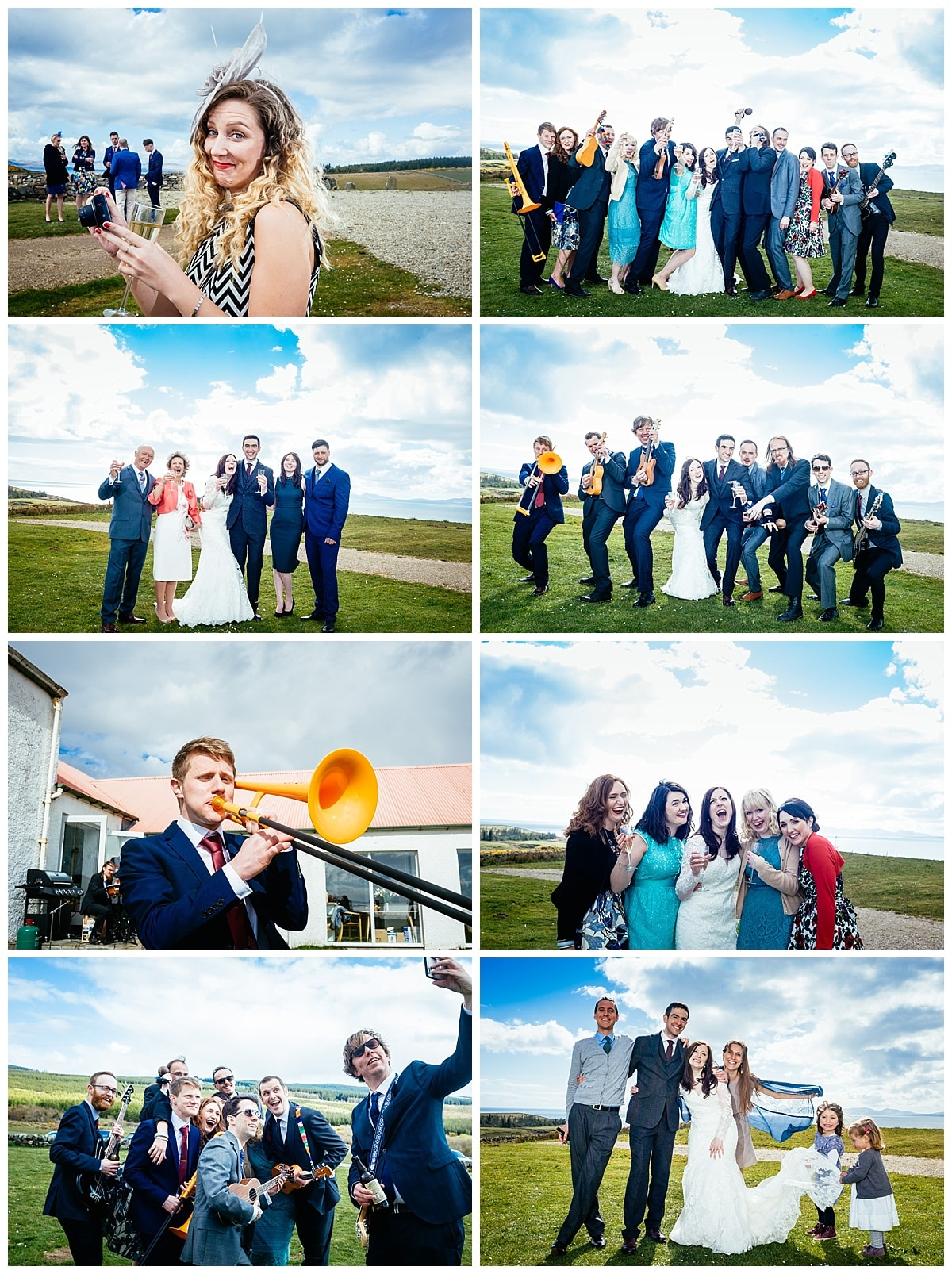 Amy Andy Scotland Wedding at Crear Alternative wedding Venue