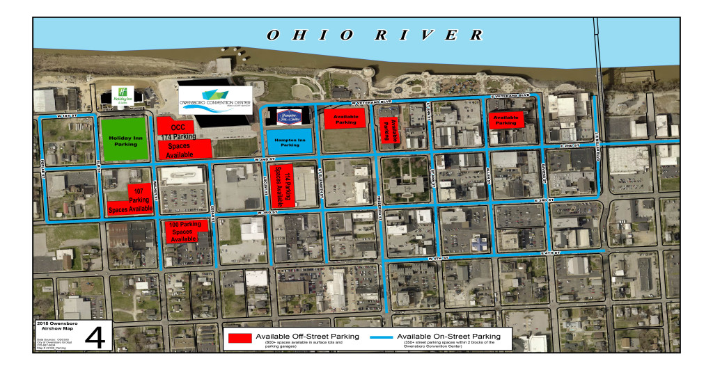 Parking  Directions  Owensboro Convention Center