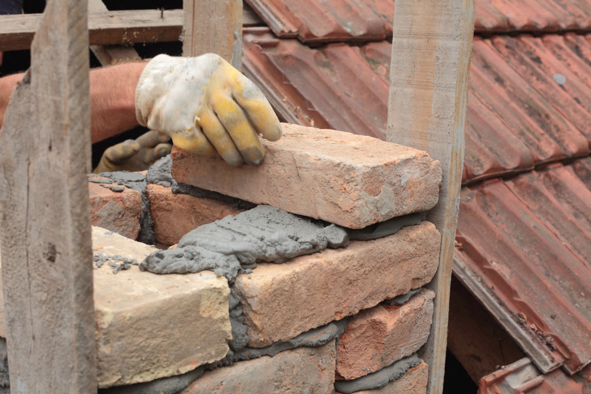 Chimney Restoration Means Masonry Restoration  Charlotte NC