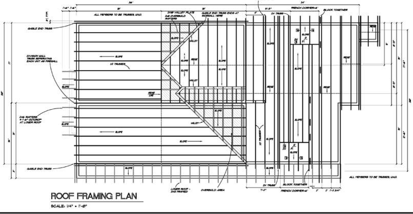 Funky Roof Framing Plan Sample Ornament - Ideas de Marcos ...