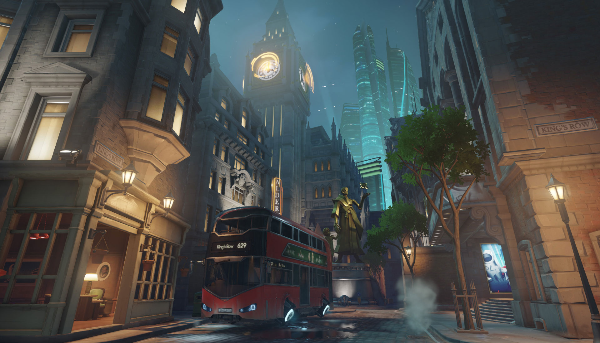 OW Map Kings Row Overwatch Kings Row Stats And Strategy