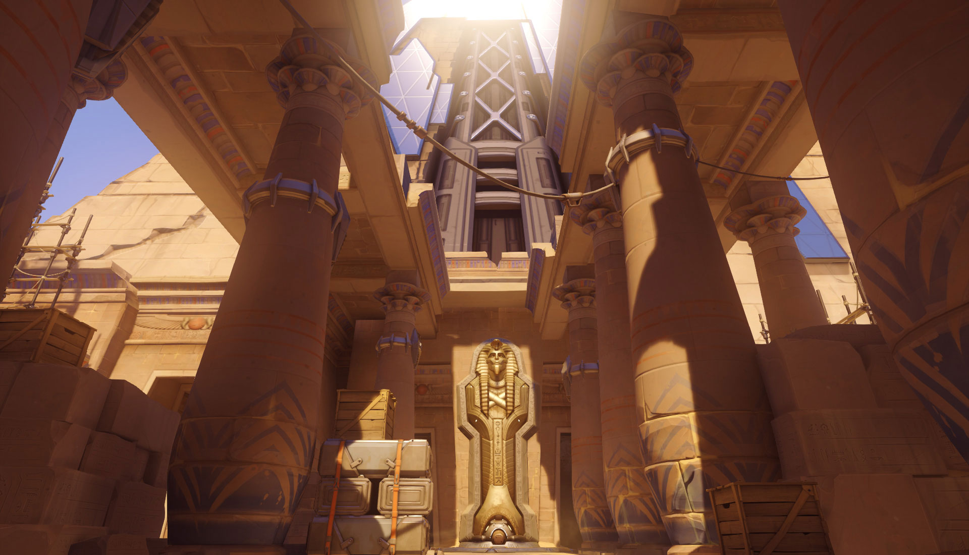OW Map Temple Of Anubis Overwatch Temple Of Anubis Stats And Strategy
