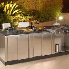Stainless Steel Outdoor Kitchen Lg Suite Renovations