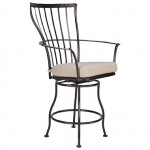 OW Lee Monterra Swivel Counter Stool With Arms