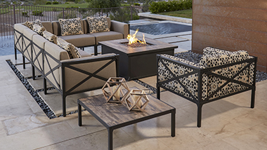 Wrought Iron U0026 Steel Collections. Hand Crafted Patio Furniture Backed By An  Incredible Warranty, O.W. Leeu0027s ...