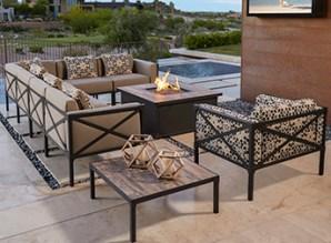 Modular patio furniture