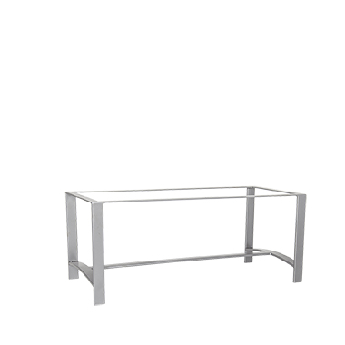 OW Lee Casual Iron Coffee Table Base
