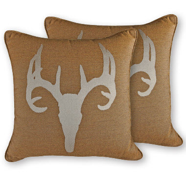 OW Lee Emblem Santa Fe Throw Pillow