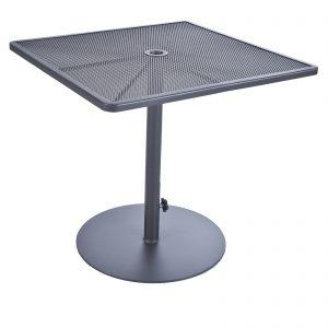 OW Lee Pedestal Iron Counter Table