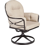 OW Lee Cambria Swivel Rocker Club Dining Arm Chair