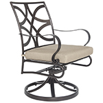 OW Lee Marquette Swivel Rocker Dining Arm Chair