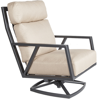 OW Lee Aris Swivel Rocker Lounge Chair