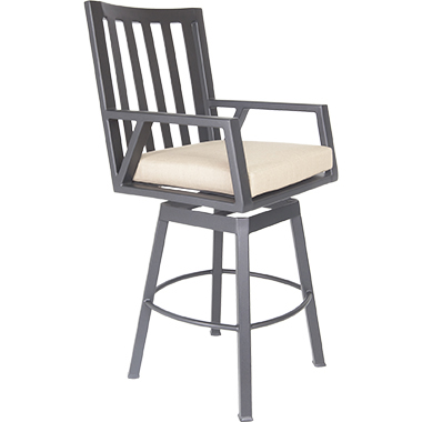 OW Lee Aris Swivel Bar Stool
