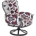 OW Lee Pendleton Mini Monterra Swivel Rocker Lounge Chair