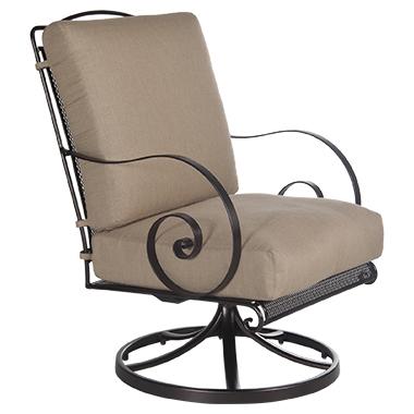 OW Lee Avalon Swivel Rocker Lounge Chair