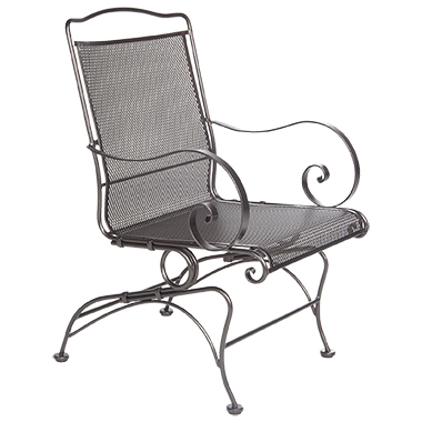 OW Lee Avalon Coil Spring Dining Arm Chair