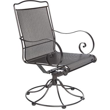 OW Lee Avalon Swivel Rocker Dining Arm Chair