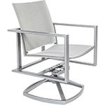 OW Lee Studio Flex Comfort Swivel Rocker Arm Chair