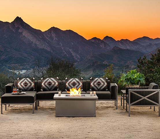 OW Lee Pendleton Creighton Luxury Outdoor Patio Furniture