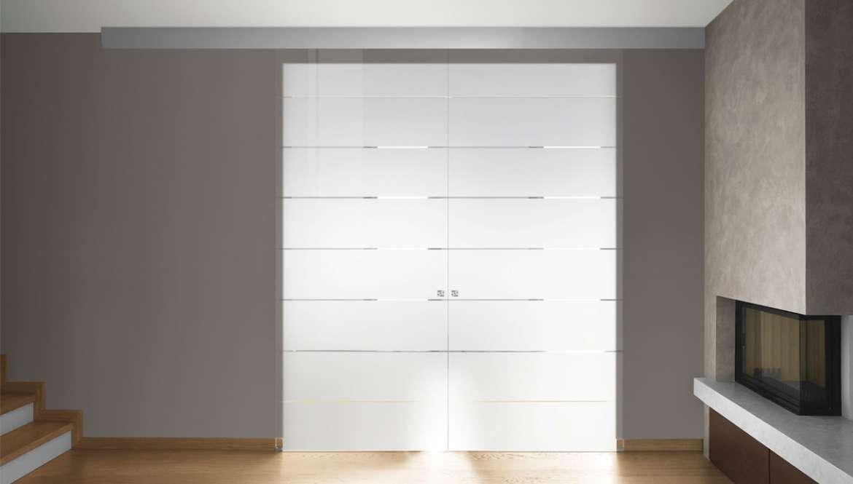 Porte in solo vetro  Design unico di OWL GLASS