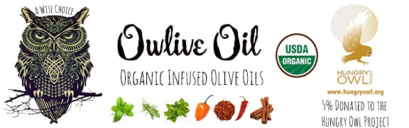 Owlive Oil Organic Infused Olive Oils