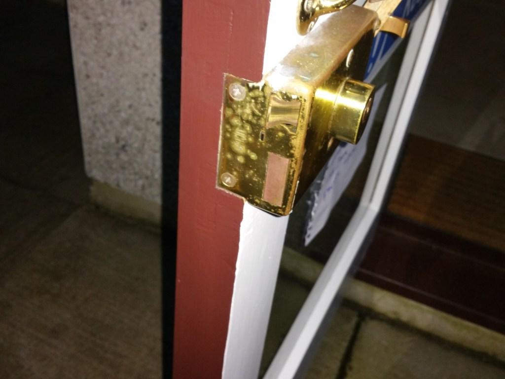 Mechanical Digital Push Button Lock