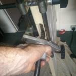 Internal door repair after burgalry