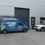 The Owl van outsdie WPD