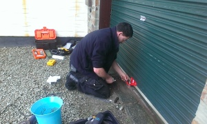 Roller Shutter Garage Lock Repair