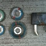 Removed old padlock components