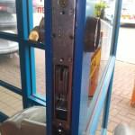 Lock replacement at Halfords Camborne