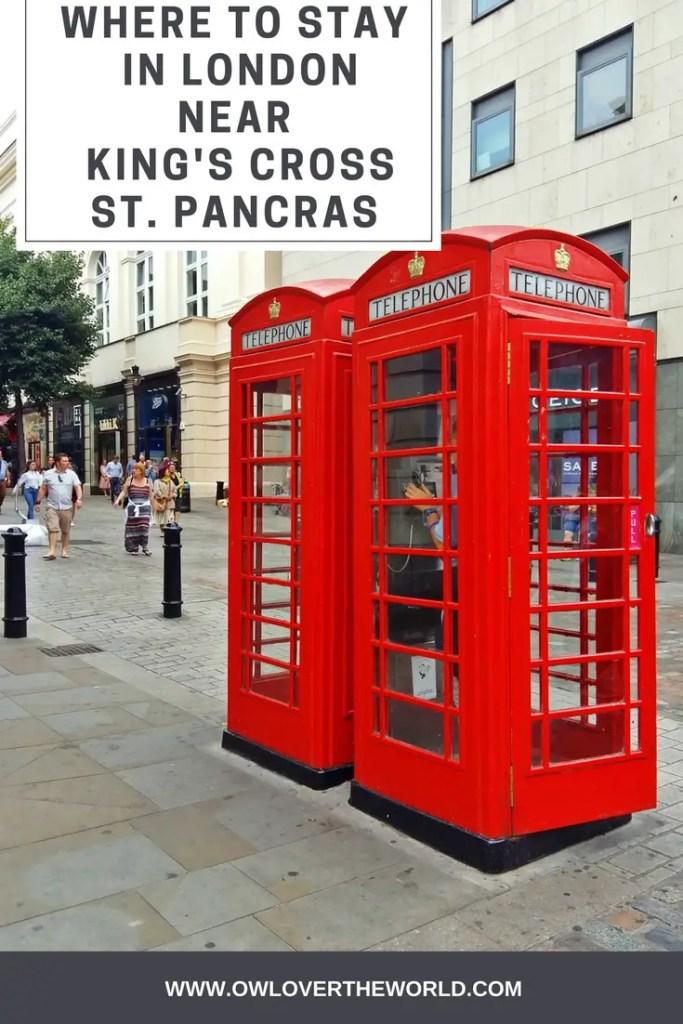 where to stay in london near kings cross pancras