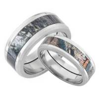 camo wedding ring sets his and hers | Wedding Ideas and ...