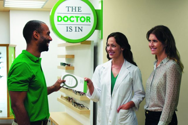 Pearle Vision's business systems are designed to simplify the management of a retail optical store