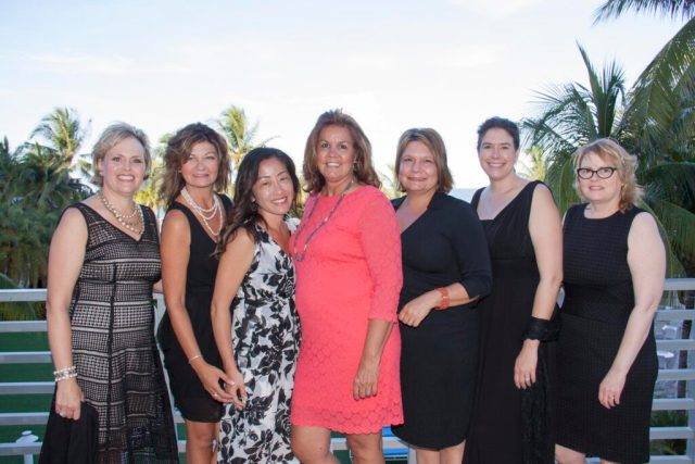 Pearle Vision franchisees - a group of female licensed operators