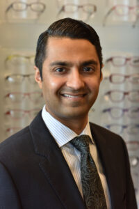 image of a Pearle Vision franchisee named Dr. Ketan Sheladia, OD