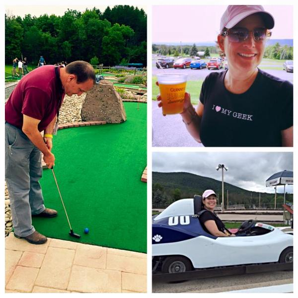 Made it to PA! Forced fun and socializing at the Mac Admins Conference. Tim got a hole in one! I drank and drove.