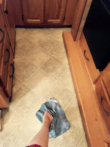 Aug. 10, 2015 Mopping the kitchen floor no longer requires an actual mop! It's the little things.