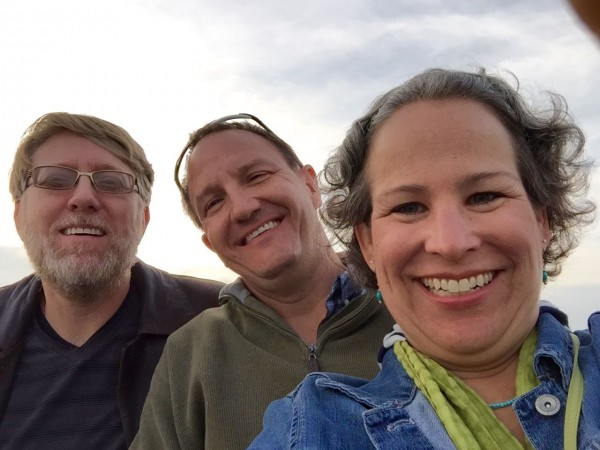 Balboa Ferry selfie with Robert