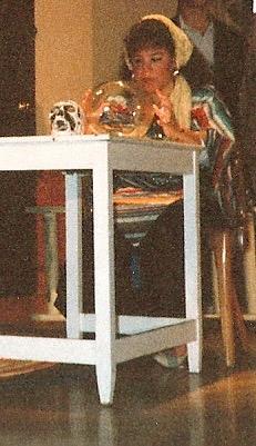 1987. I was a gypsy in a high school play. Wasn't everyone?