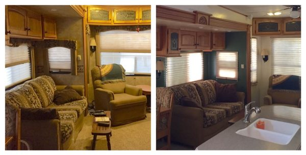 9 Things We Learned When We Painted Our Rv Interior Own Less Do More