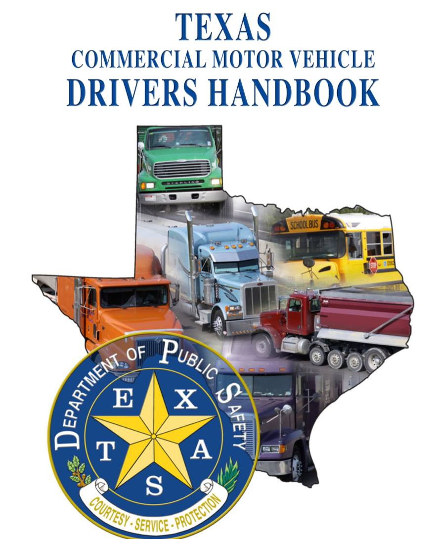commercial drivers license texas handbook